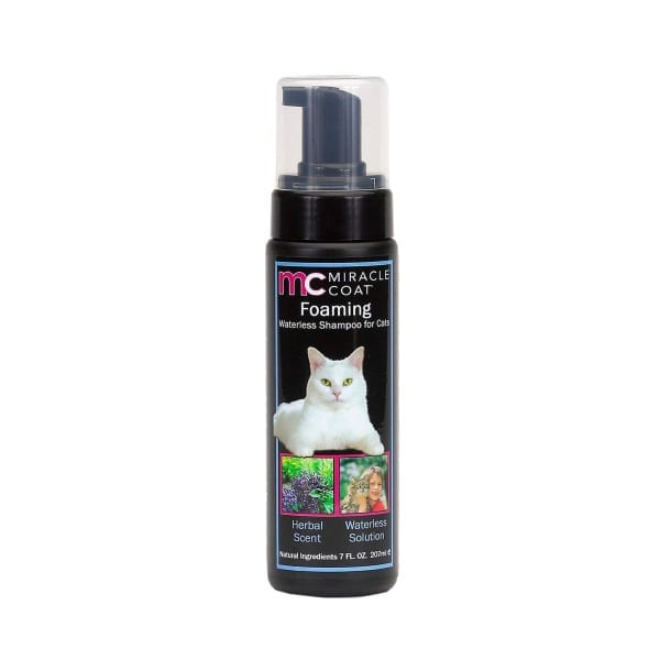 Foaming Waterless Shampoo for Cats - Shampoo - Miracle Coat - Miracle Corp