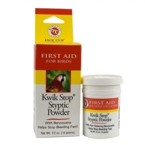 Kwik Stop Styptic Powder for Birds - Powder - Miracle Care - Miracle Corp